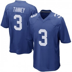 Nike Alex Tanney New York Giants Men's Game Royal Team Color Jersey