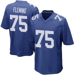 Nike Cameron Fleming New York Giants Youth Game Royal Team Color Jersey