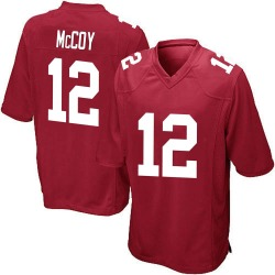 Nike Colt McCoy New York Giants Youth Game Red Alternate Jersey