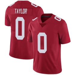 Nike Shakial Taylor New York Giants Men's Limited Red Alternate Vapor Untouchable Jersey