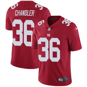 Nike Sean Chandler New York Giants Youth Limited Red Alternate Vapor Untouchable Jersey