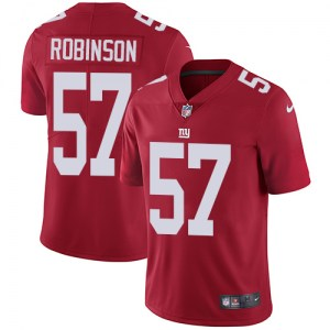 Nike Keenan Robinson New York Giants Men's Limited Red Alternate Jersey